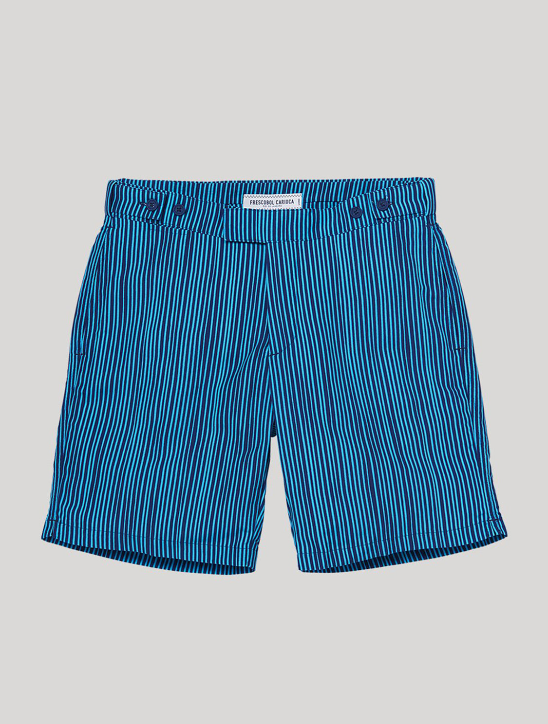 TAILORED SWIM SHORTS TRAÇOS PRINT
