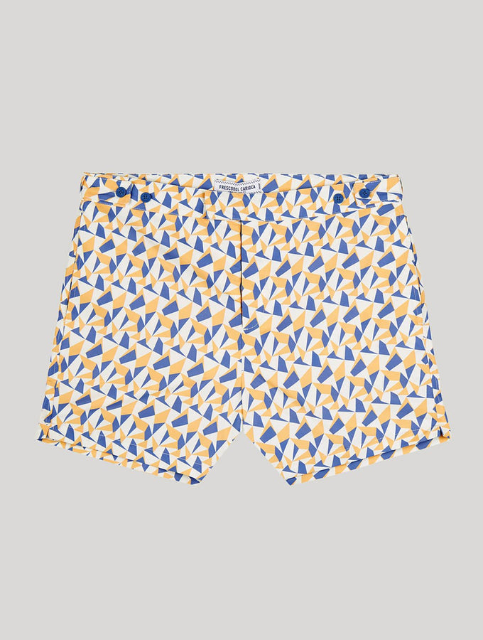 Fragment Print Tailored Swim Shorts