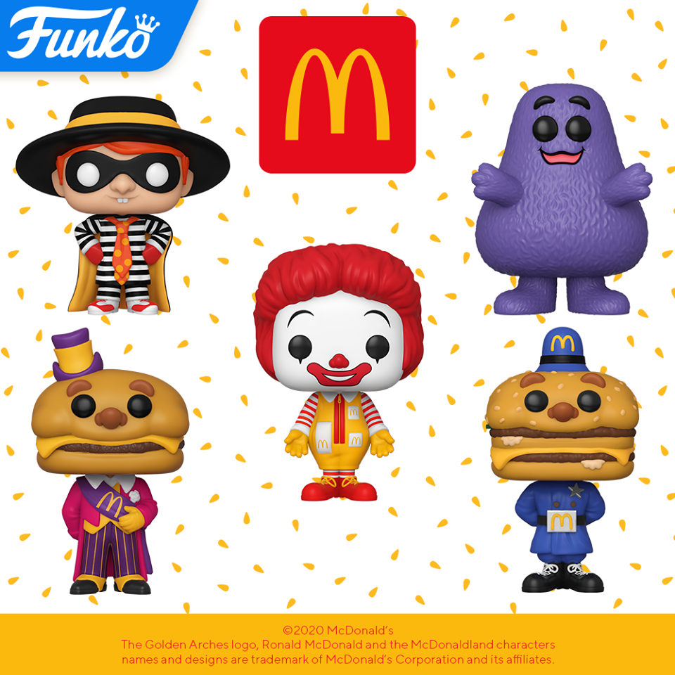 Funko Pop! Ad Icons: McDonald's - Set of 5 Bundle