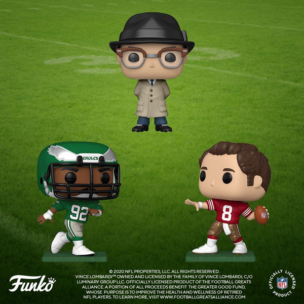 Funko Pop! NFL: NFL Legends - Jim Kelly (Bills) Vinyl Figure