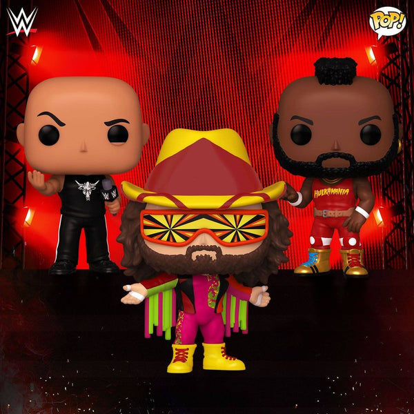Funko Pop! WWE Icons Bundle of 3