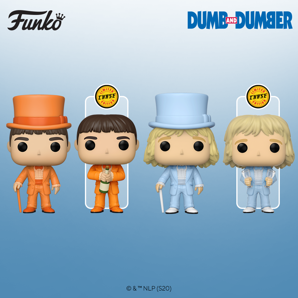 Funko Pop! Dumb and Dumber - Lloyd in Tux - Chase Bundle