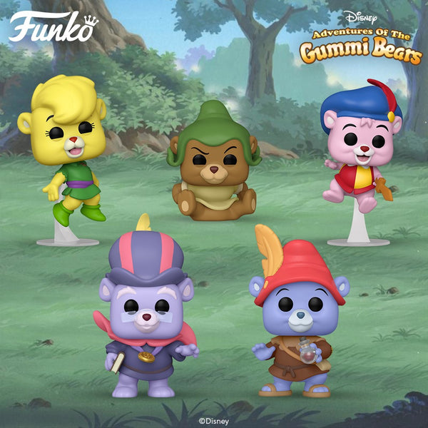 POP! Disney: Adventures of the Gummi Bears Sunni Gummi