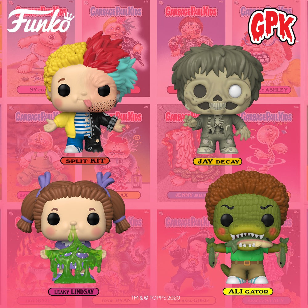 Funko Pop! Garbage Pail Kids - Bundle of 4