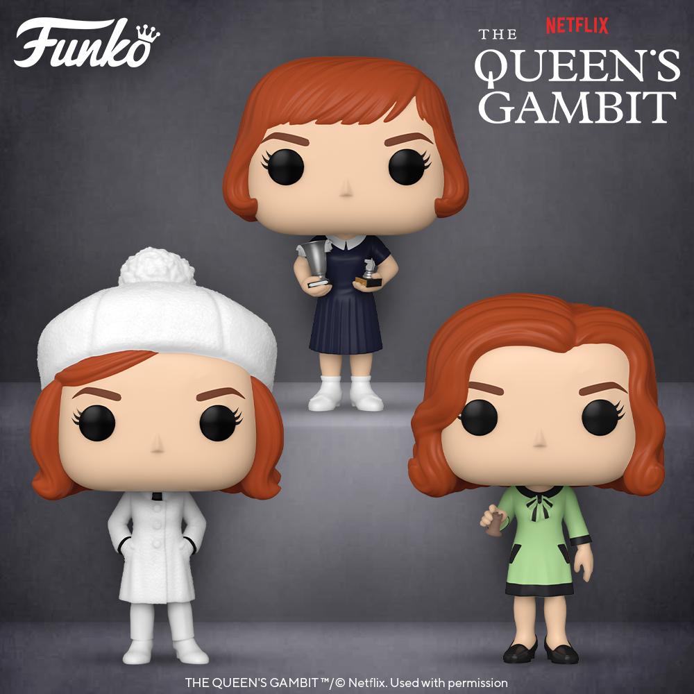 Funko Pop! TV: Queens Gambit - Bundle of 3