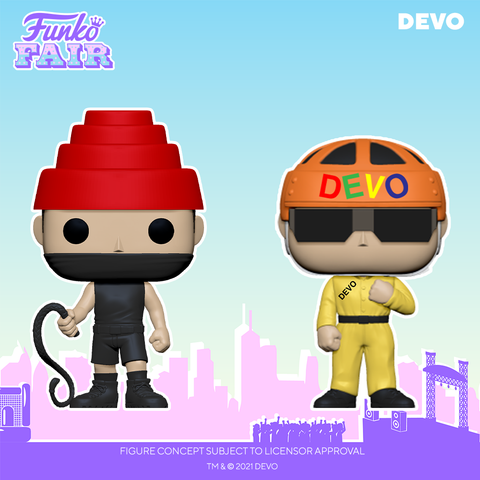 Funko Pop! Music : Devo - Satisfaction (Yellow Suit)