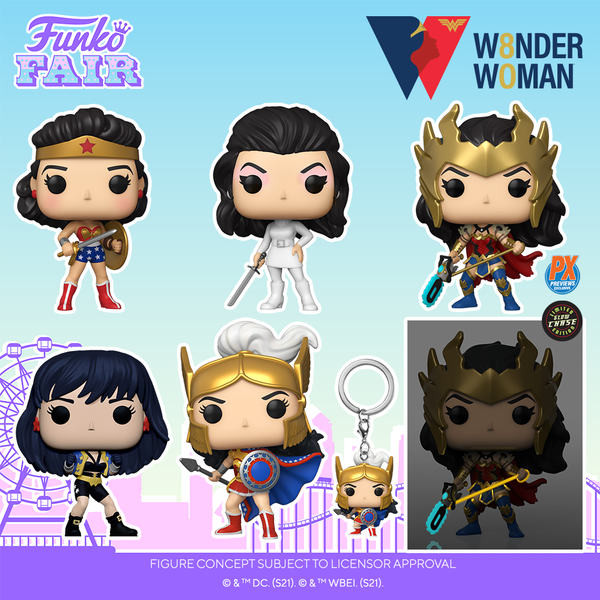 Funko Pop! TV : Wonder Woman 80th Anniversary - Challenge of the Gods Pocket Pop!