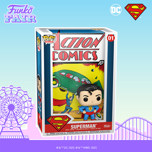 Funko Pop! Vinyl Comics Cover : Superman Action Comics