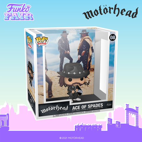 Funko Pop! Albums: Motorhead - Ace of Spades