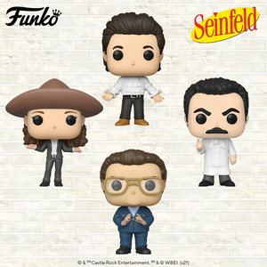 Funko Pop! TV: Seinfeld - Bundle of 8