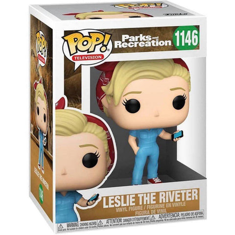 Funko Pop! TV: Parks and Recreation - Leslie the Riveter