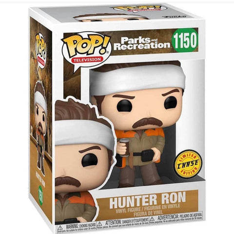 Funko Pop! TV: Parks and Recreation - Hunter Ron - Chase Bundle