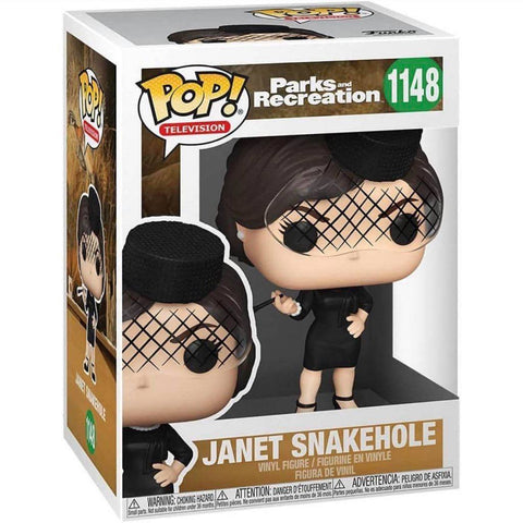Funko Pop! TV: Parks and Recreation - Janet Snakehole