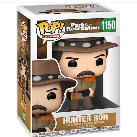 Funko Pop! TV: Parks and Recreation - Hunter Ron