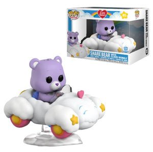 Care Bears: Share Bear with Cloud Mobile Funko-Shop Exclusive Pop Ride