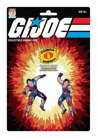 G.I. Joe Tomax and Xamot Pin Set 2-Pack - SDCC 2021 Previews Exclusive