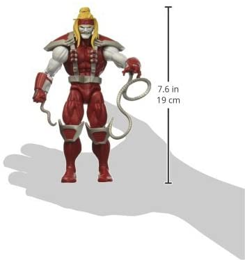 Hasbro Marvel Legends Series 6-inch Deadpool Collection Deadpool Action Figure (Omega Red) Toy Premium Design and Accessories