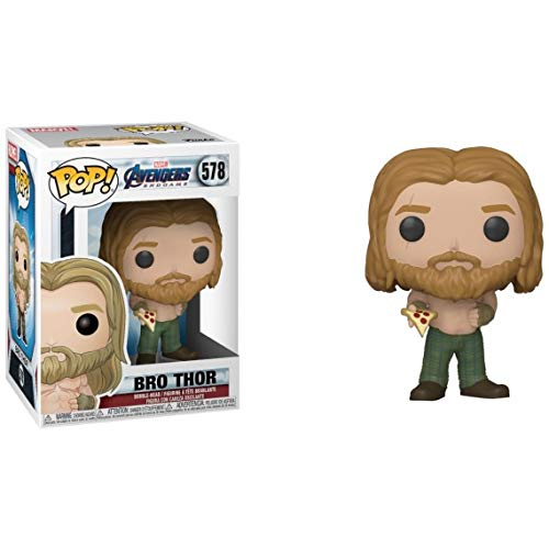 Funko Pop! Marvel: Avengers Endgame - Bro Thor with Pizza