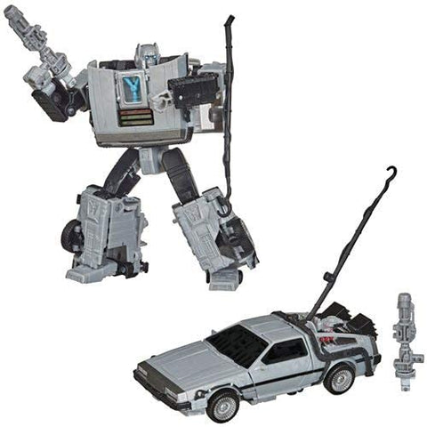 Back to The Future Transformers Mash-Up Gigawatt