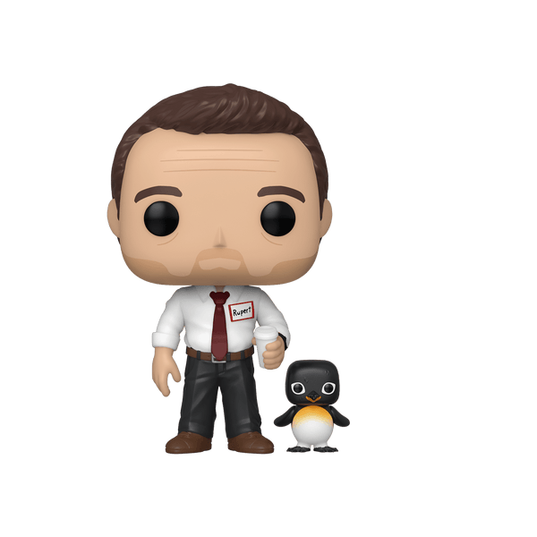 Fight Club Narrator with Power Animal Pop! Vinyl Figure (Chase)