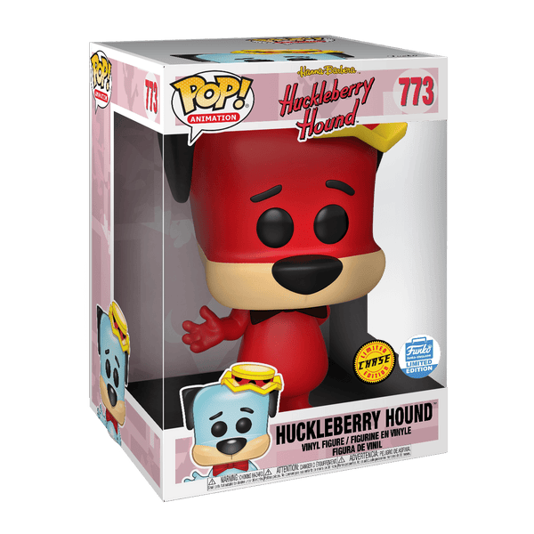 "Huckleberry Pop Animation Hound - Limited Edition 10"" Red Chase"