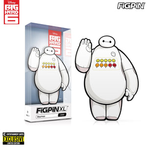 Big Hero 6 Baymax Pain Meter FiGPiN XL Enamel Pin - Entertainment Earth Exclusive