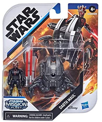STAR WARS Mission Fleet Gear Class Darth Maul Sith Probe Pursuit 2.5-Inch-Scale Figure and Vehicle