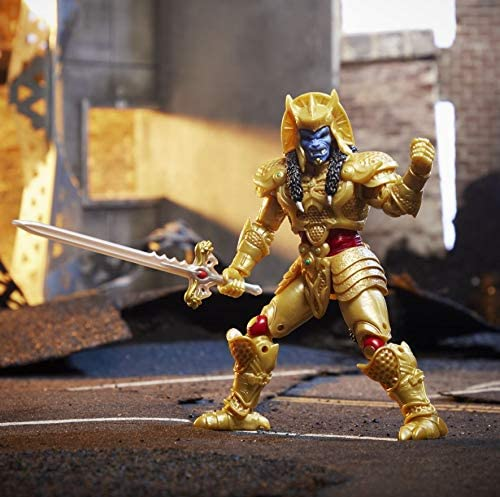 Power Rangers Lightning Collection Mighty Morphin Goldar 6-Inch Premium Collectible Action Figure Toy with Accessories