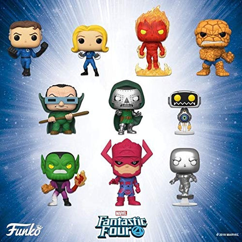 POP! Funko Marvel Fantastic Four Set of 10