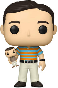 Funko Pop! Movies: 40 Year Old Virgin - Andy Holding Oscar