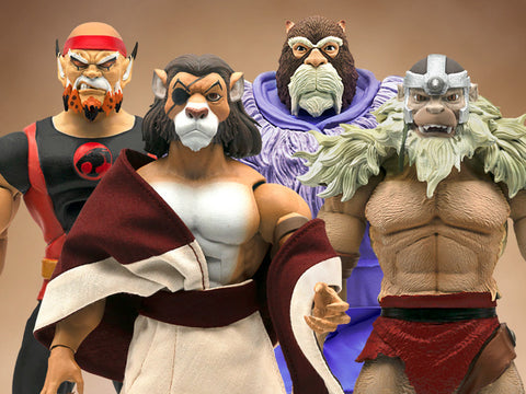 ThunderCats Ultimates 7-Inch Wave 4 Action Figure Set of 4