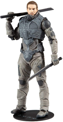 McFarlane Toys Dune Duncan Idaho 7-inch Action Figure with Build-A Glossu 'Beast' Rabban Figure Parts
