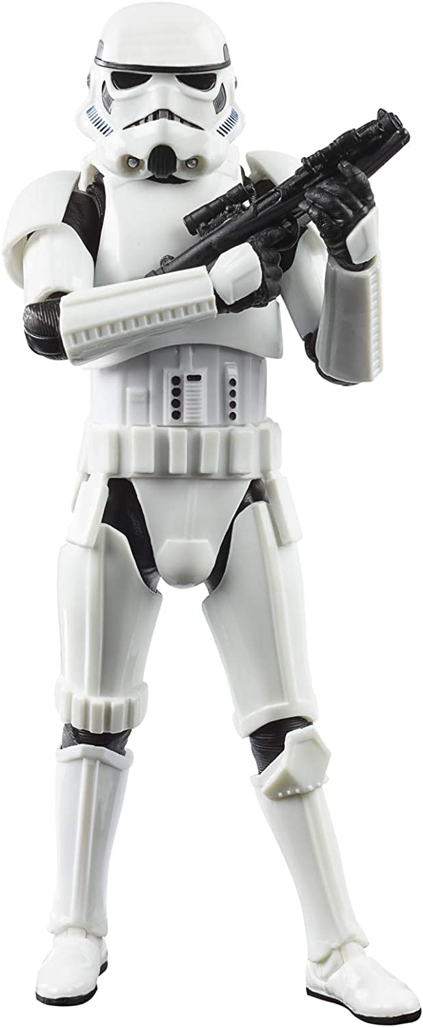 Star Wars The Black Series Imperial Stormtrooper Toy 6-Inch-Scale The Mandalorian Collectible Action Figure