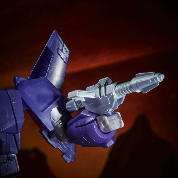Transformers Toys Generations War for Cybertron: Kingdom Voyager WFC-K9 Cyclonus Action Figure - Kids Ages 8 and Up, 7-inch