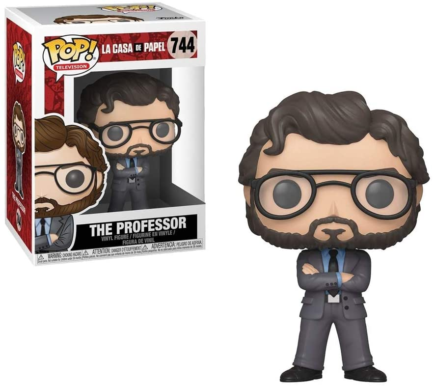 Funko POP! Television: Money Heist - The Professor