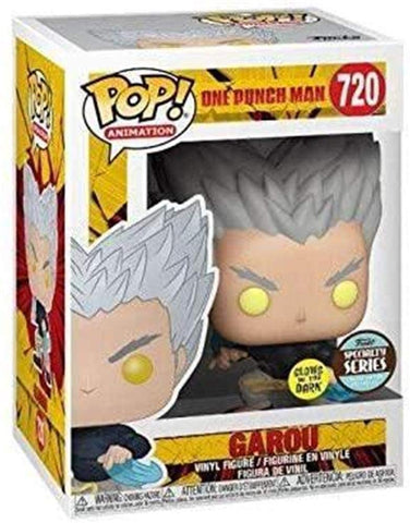 Funko Pop! Animation: One Punch Man- Garou Flowing Water (TRL)(GITD) Specialty Series Limited Edition Exclusive