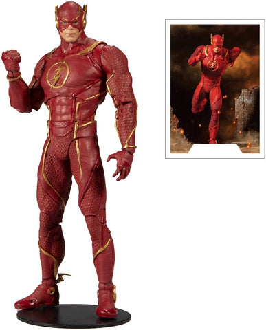"DC Gaming Injustice 2 Flash Designed by Todd McFarlane 7"" Action Figure"
