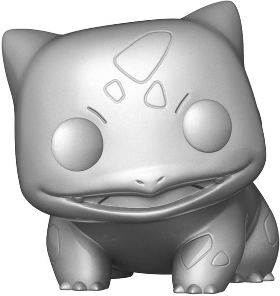 Funko Pop! Games: Pokemon - Bulbasaur Metallic Silver (Anniversary)