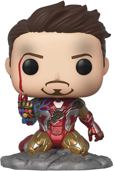 Funko Pop! Avengers Endgame: I Am Iron Man Glow-in-The-Dark Deluxe Vinyl Figure