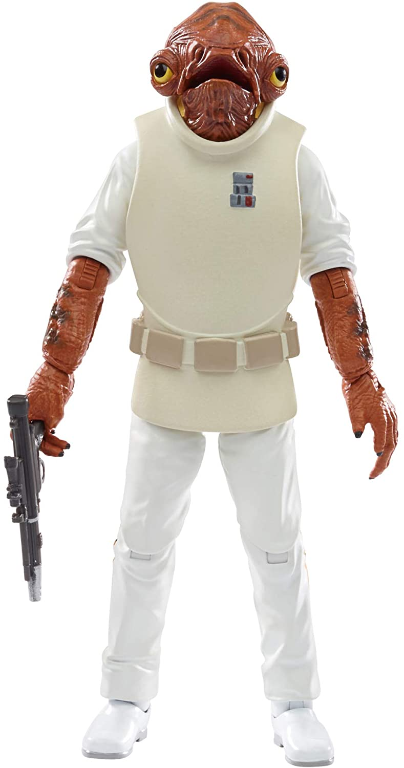 Star Wars The Black Series Admiral Ackbar Toy 6-Inch-Scale Return of The Jedi Collectible Action Figure