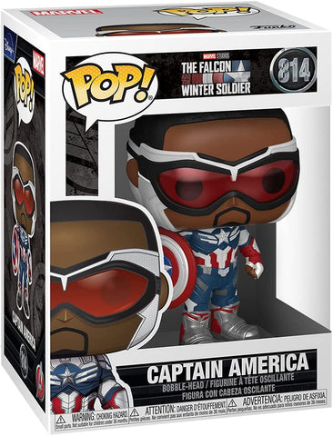 Funko POP! Marvel: The Falcon and Winter Soldier - Captain America