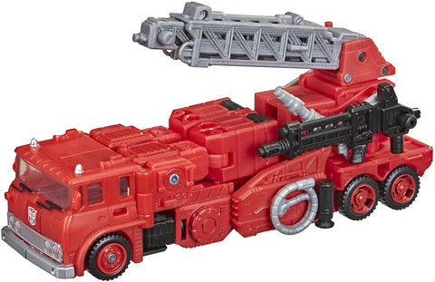 Transformers Toys Generations War for Cybertron: Kingdom Voyager WFC-K19 Inferno Action Figure - 7-inch