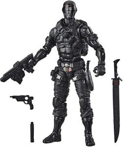 Hasbro G.I. Joe Classified Series Snake Eyes Action Figure 02 Collectible Premium Toy with Multiple Accessories 6-Inch Scale with Custom Package Art