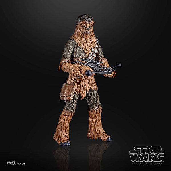 Star Wars The Black Series Chewbacca 6-Inch Scale The Empire Strikes Back 40th Anniversary Collectible Figure