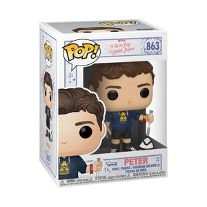 Funko Pop! Movies: To All The Boys - Peter with Scrunchie