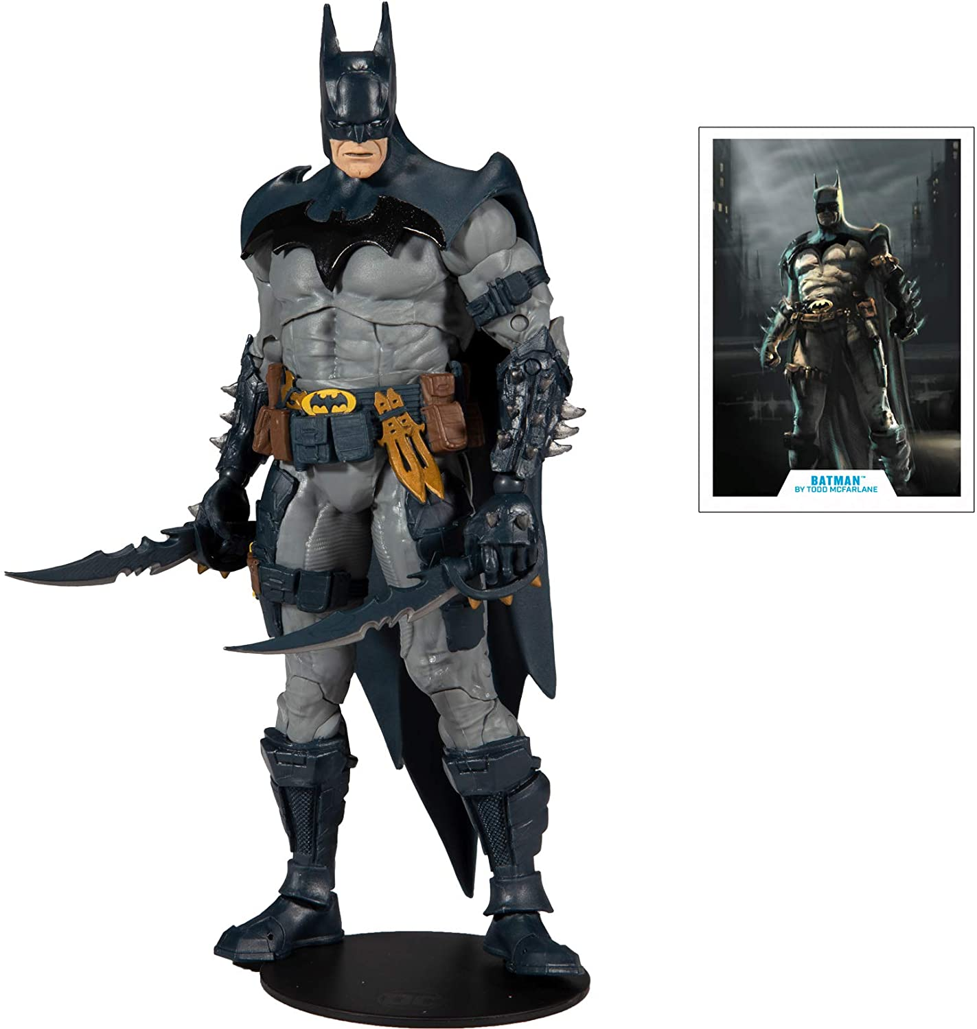 "DC Multiverse Batman Designed by Todd McFarlane 7"" Action Figure"
