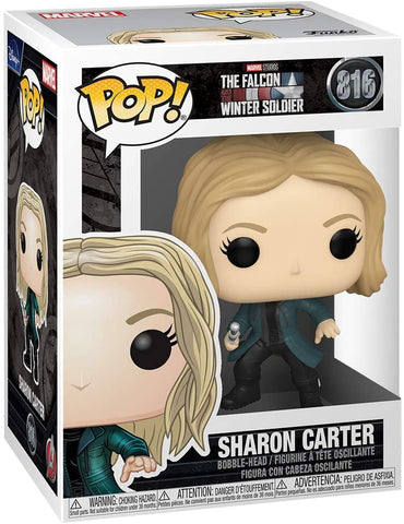 Funko POP! Marvel: The Falcon and Winter Soldier - Sharon Carter
