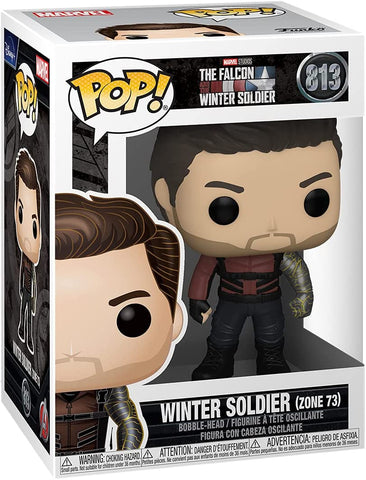 Funko POP! Marvel: The Falcon and Winter Soldier - Winter Soldier