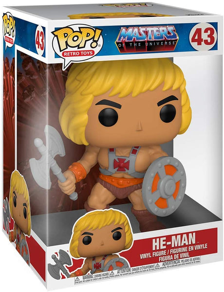 Funko Pop!: Masters of The Universe - He-Man 10""