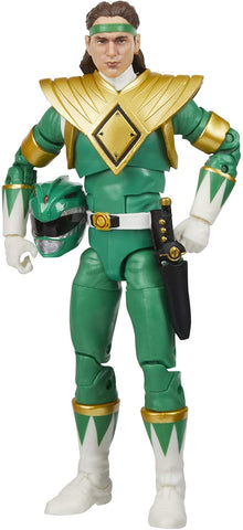Power Rangers Lightning Collection Mighty Morphin Green Ranger 6-Inch Premium Collectible Action Figure Toy with Accessories